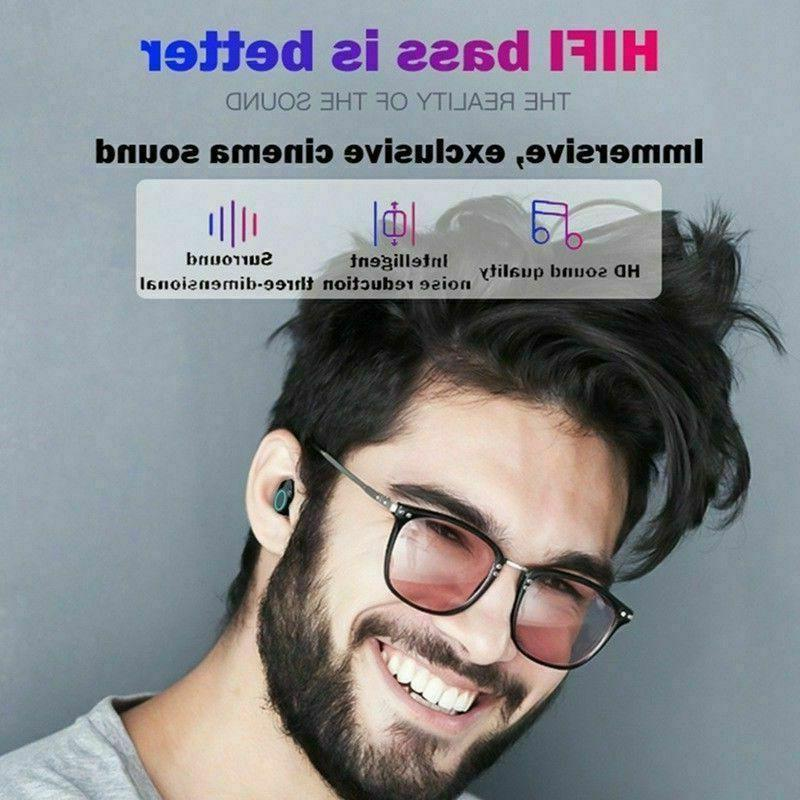 Wireless Bluetooth Headphones Earbuds Earphone