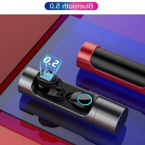 Wireless Bluetooth 5.0 Headphones Sport Waterproof Earbuds Earphone