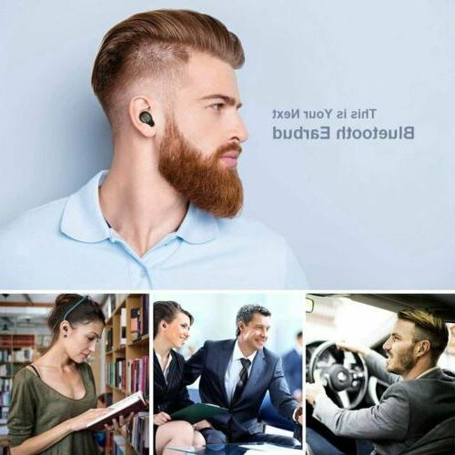 Mini True Bluetooth Headphones HiFi Sound