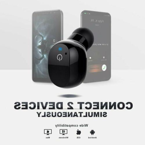Mini True Bluetooth Earbuds Wireless Stereo Headphones HiFi Sound