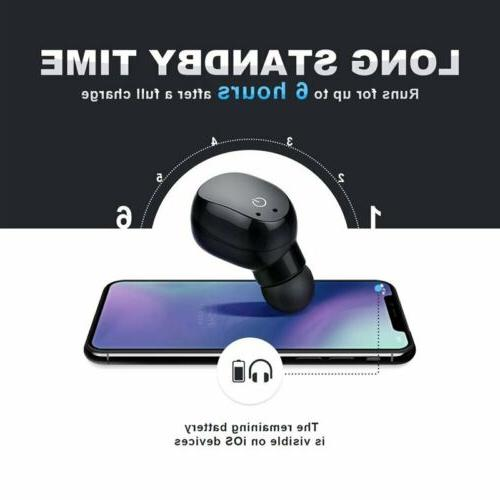 Earbuds Wireless Headset Stereo Headphones HiFi Sound