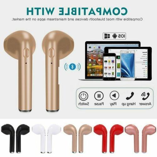 pair i7 tws universal in ear wireless