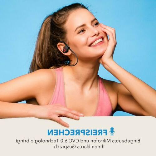Mpow Wireless Bluetooth Headphones Sport Sweatproof Earbuds Gym