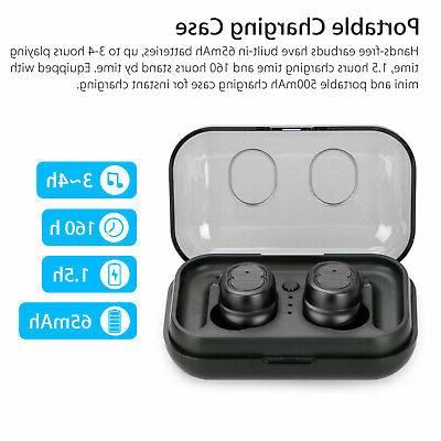 IPX7 Touch Mini Earbuds Wireless Headset Headphone