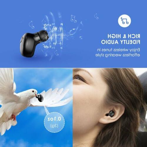 MPOW Wireless Bluetooth V4.1 Earbud