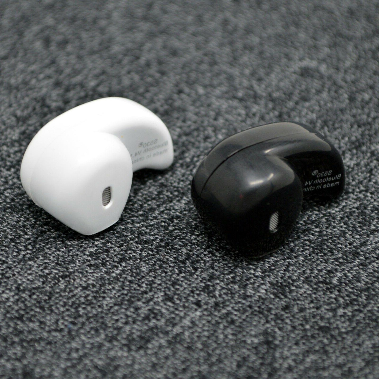 wireless bluetooth noise cancelling trucker headset earbuds