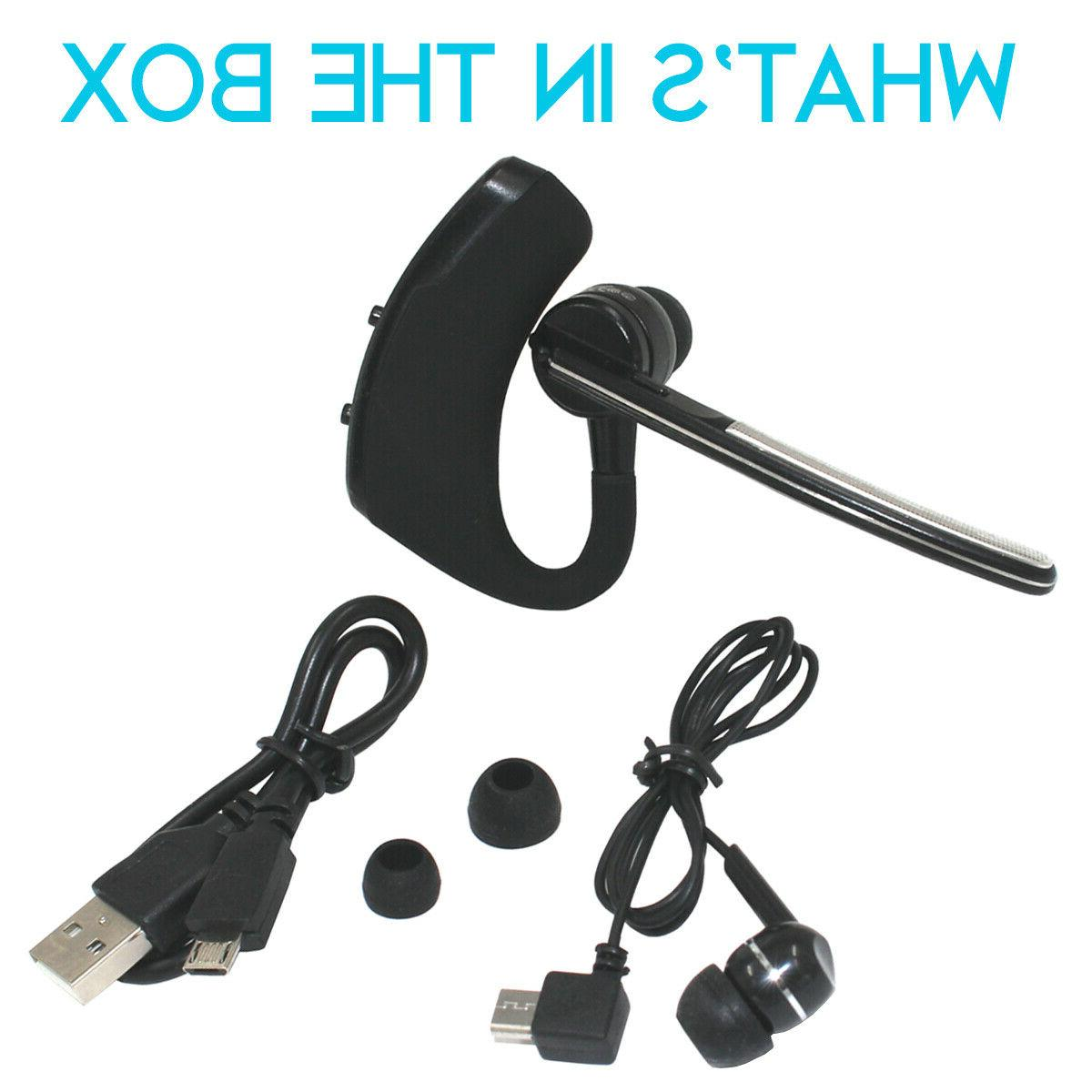 Wireless Bluetooth Trucker Earpiece For
