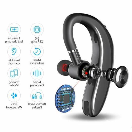 Wireless Trucker Headset Earpiece For Driving
