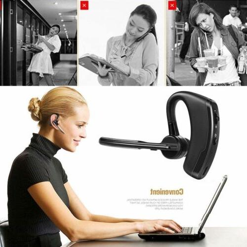 Wireless Trucker Headset Earpiece Earbud For