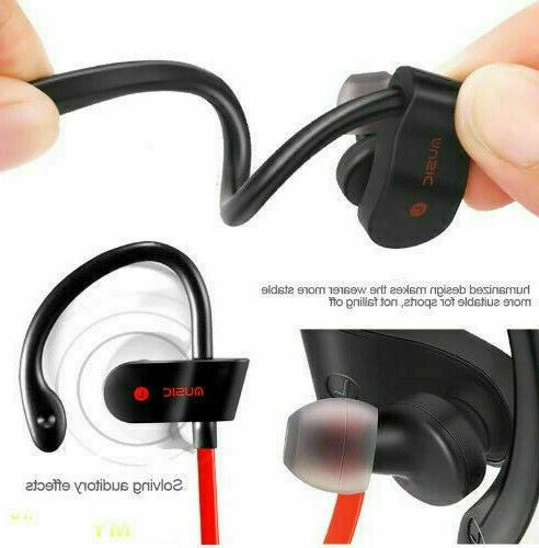 Wireless Sport Headphones Earbuds with