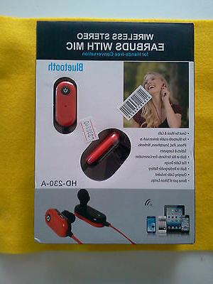 wireless bluetooth v3 0 stereo earbuds headsets