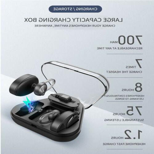 Wireless Mini True Bluetooth Earbuds Stereo In-Ear Headset