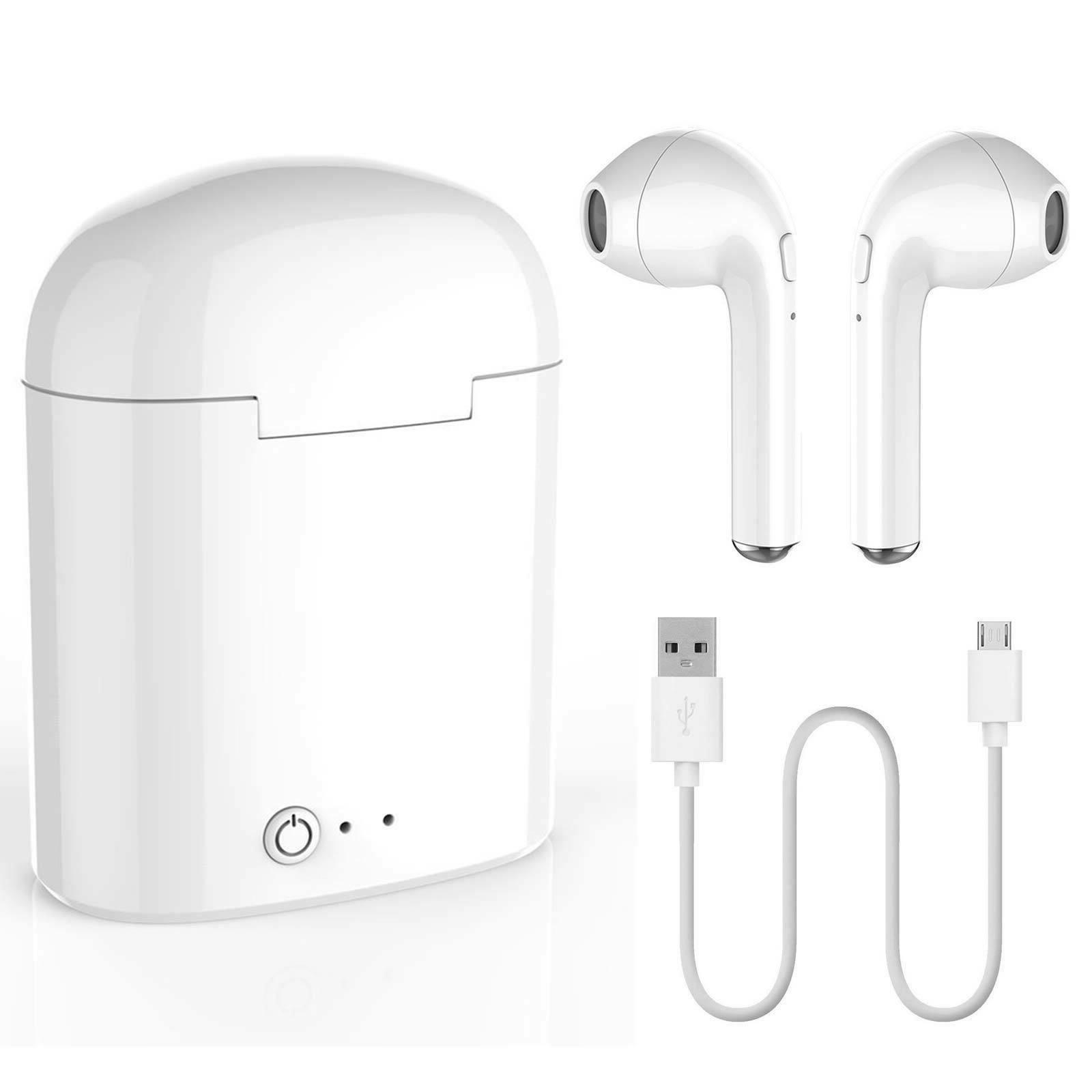 Wireless Pair 2in1 Bluetooth Earphones Earbuds