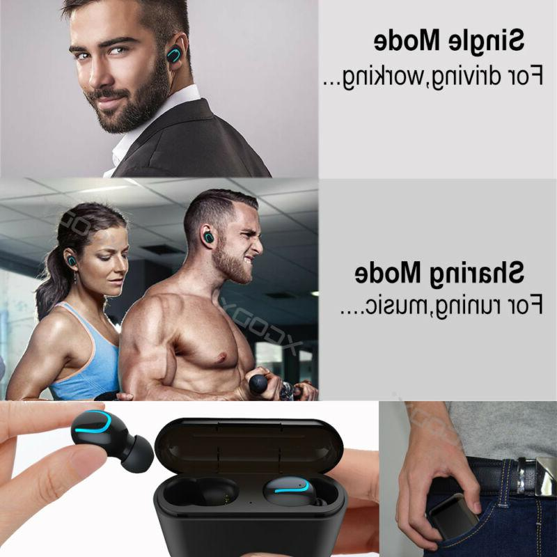 Sport Headset With Power Bank