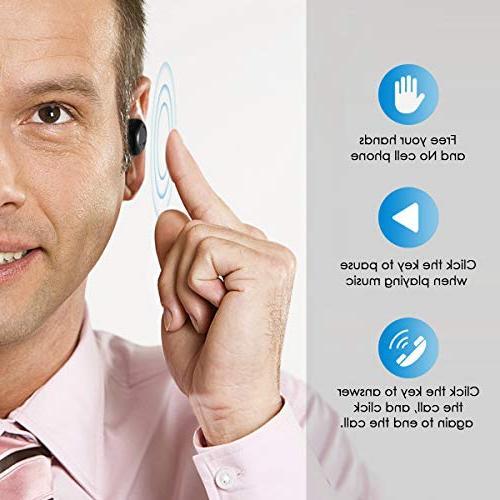 Wireless Bluetooth Stereo Earphone Headsets & Case Apple 8 7 7 Plus 6S