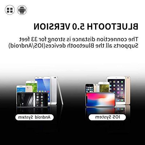 Bluetooth 5.0 True Bluetooth Earbuds Case 20H 3D Sound Headphones