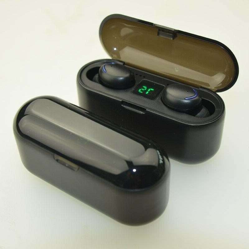 Wireless Deep Bass Earphones In Buds Black
