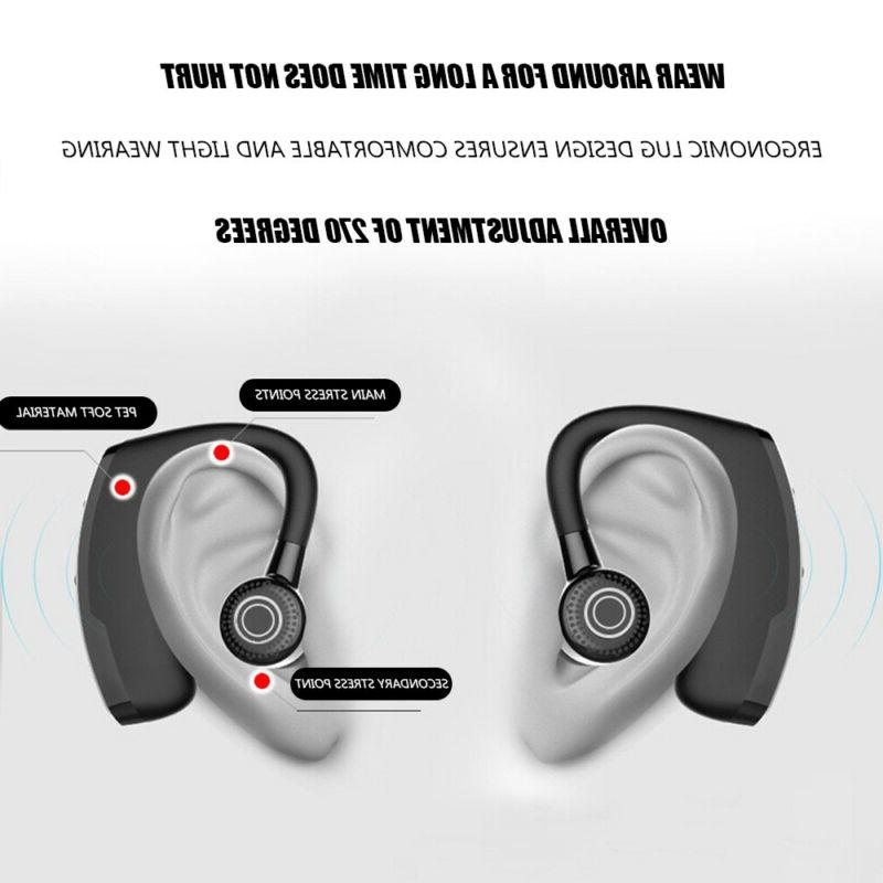 Wireless Headset Stereo Headphone Sport Handfree CSR