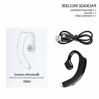 Wireless Bluetooth 5.0 Headset Sport Earpiece Headphone