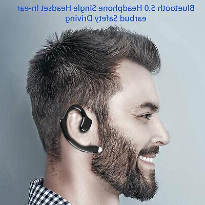 Wireless Headset Sport Earpiece Headphone Sweatproof