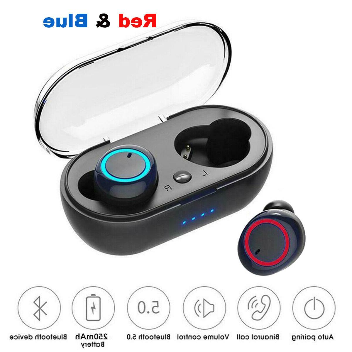 wireless earbuds bluetooth 5 0 sweatproof tws