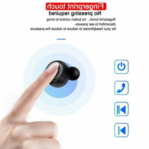 Bluetooth 5.0 Wireless Earphone In-Ear Sweatproof Headphone