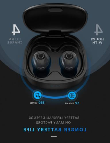 PeohZarr Earbuds Earbuds with Newest HiFi