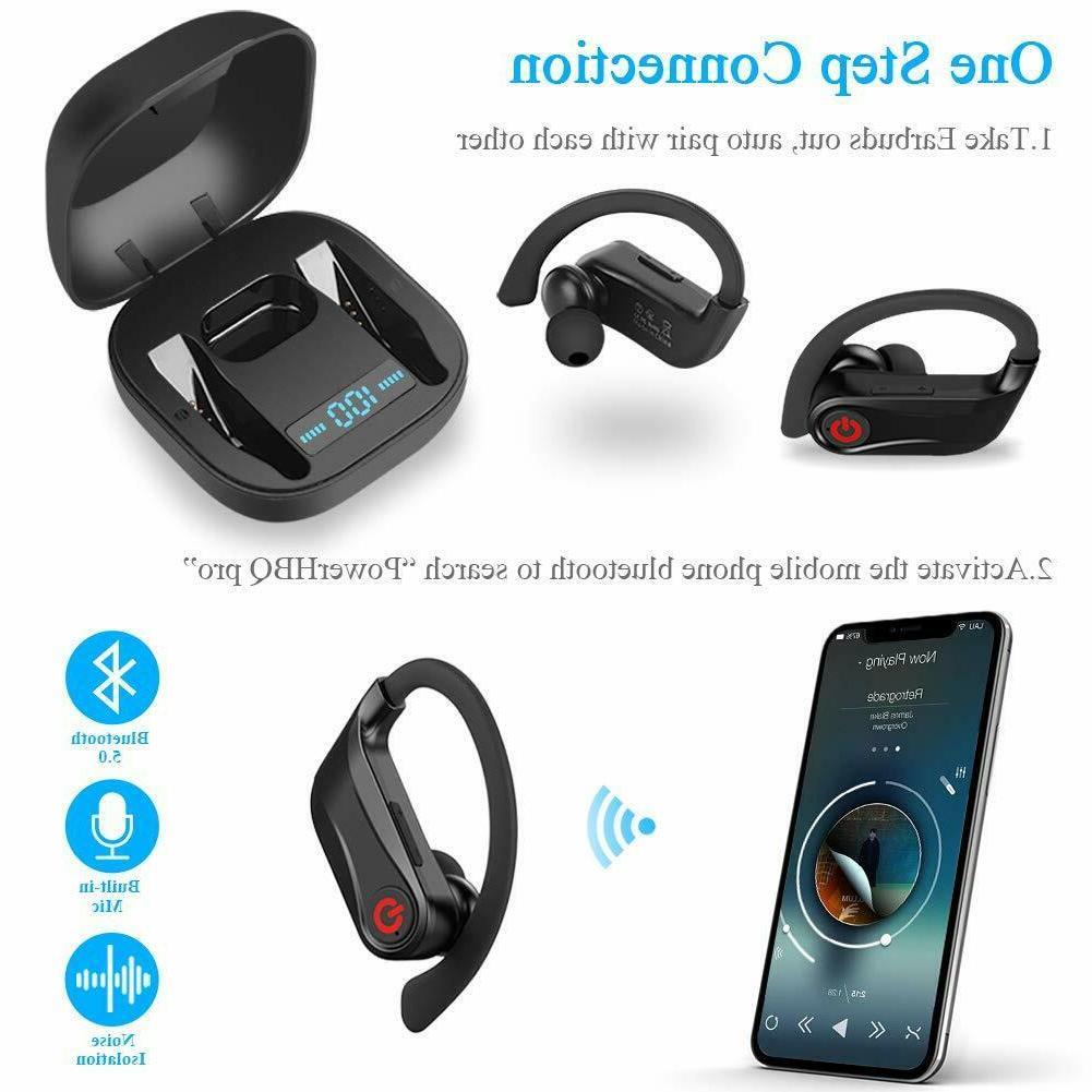 Wireless Headphones 5.0 True Earphones
