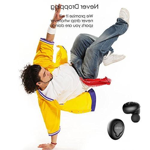 True Wireless Bluetooth Charging HiFi Sound Earphones Mini Anti Falling Sports