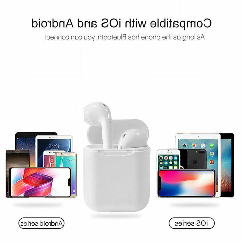 Wireless Headset For Apple iPhone 7 XR Samsung