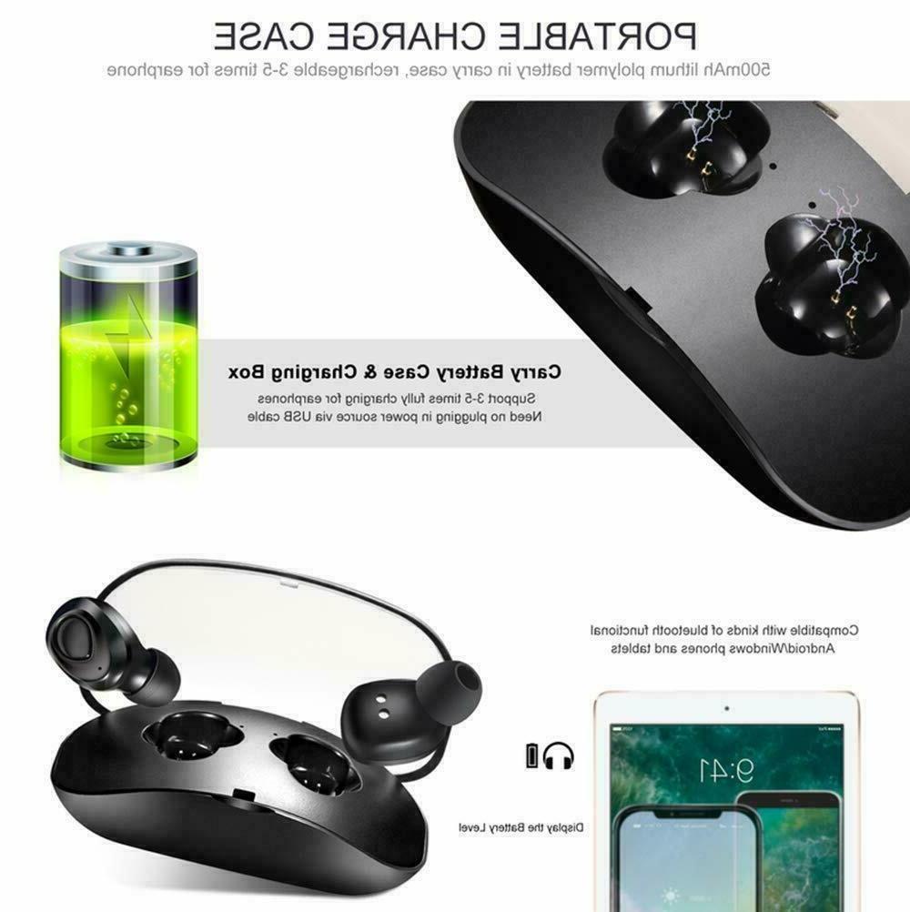 Wireless Earbuds Headphones Sweatproof &