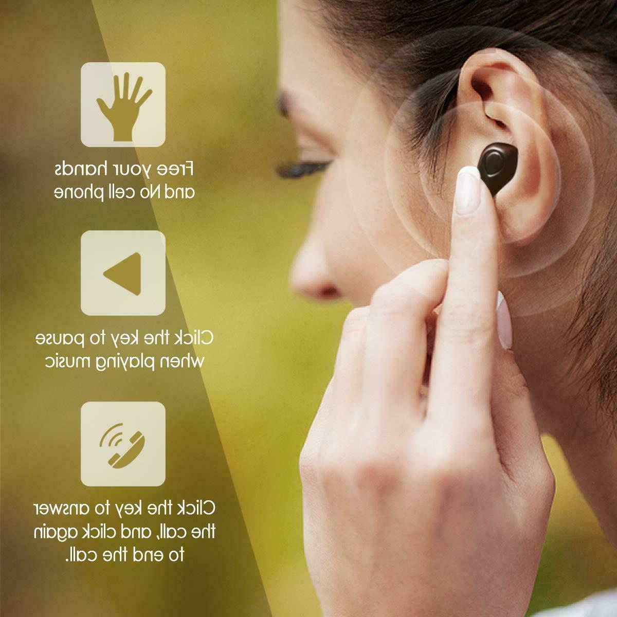 Headphones Sweatproof Mic & Charging Box