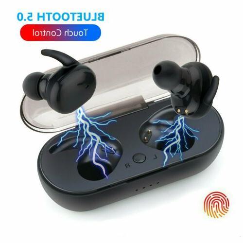 wireless earbuds bluetooth v5 0 headphones sweatproof