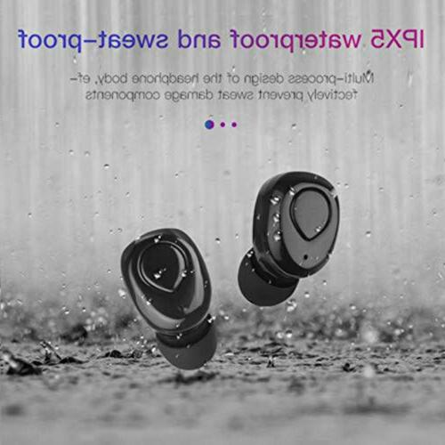 Wireless Earbuds Bluetooth Headphones Sweatproof & Box