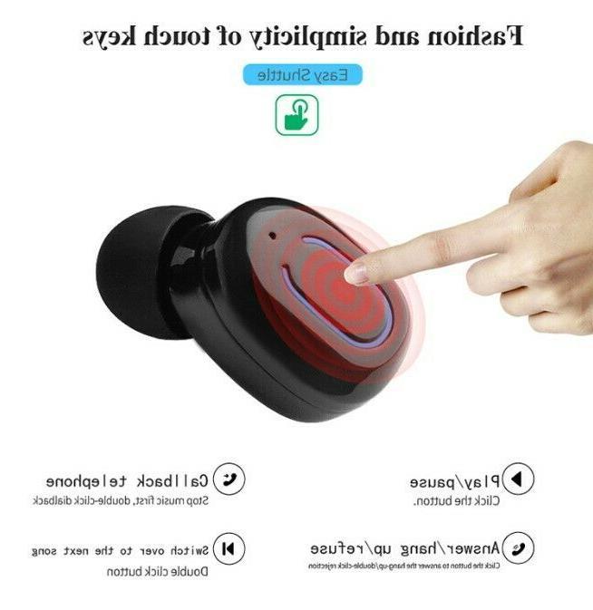 Wireless Earbuds Bluetooth Headphones Charging Box &