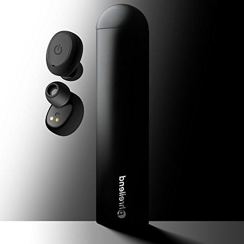 Wireless Earbuds, Phreilend Bluetooth Headphones Mini Invisible Sports Earphones with Smartphones Laptop
