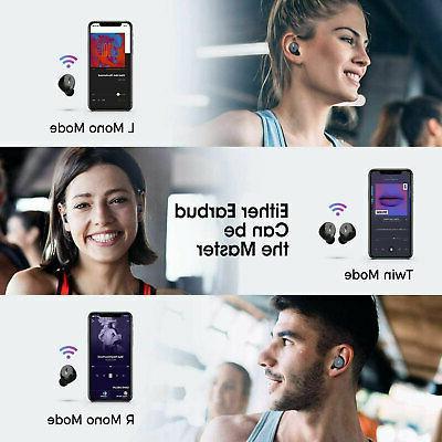 Wireless Mpow in-Ear Bluetooth USB Waterproof Sports