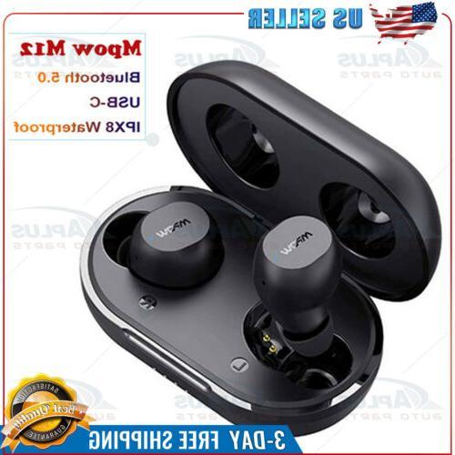wireless earbuds m12 in ear bluetooth 5
