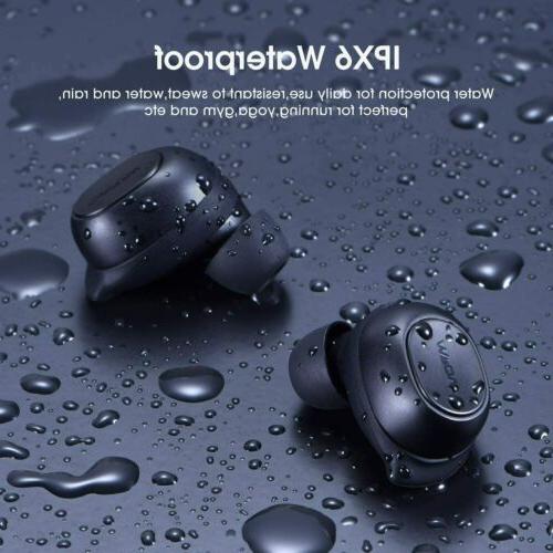 Wireless Earbuds Mpow Bluetooth Headphones Bass