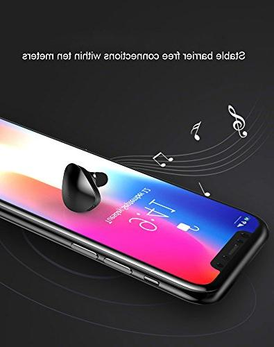 Bluetooth Earpiece, in ear Wireless Phone Headsets for Android and