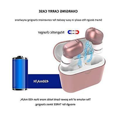 Wireless Earbuds, NENRENT TWS 5.0 Wireless Earbuds Ste...