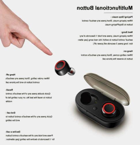 Bluetooth Earphone Headphone TWS