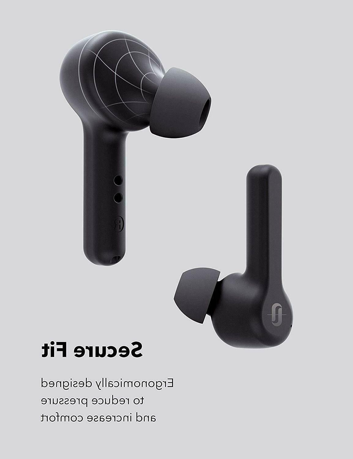 TaoTronics True Bluetooth Earphones with Charging