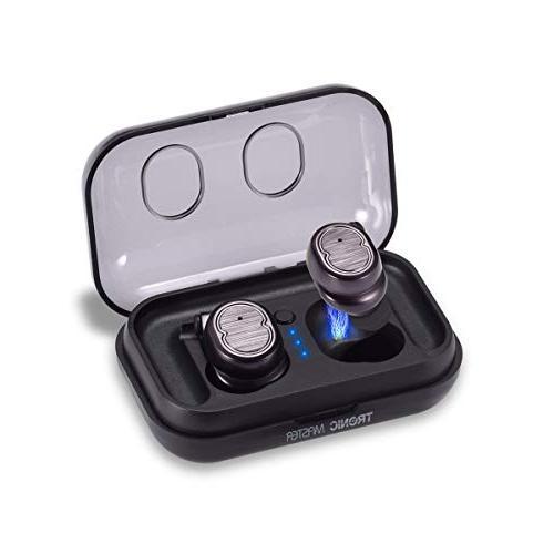 wireless earbuds tronicmaster bluetooth v5 0 true