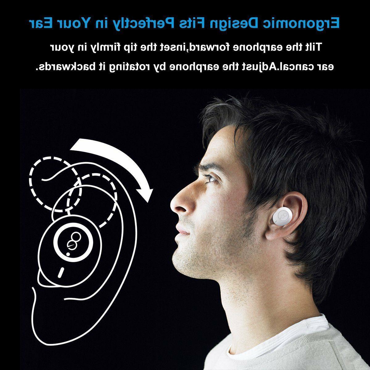 Wireless Earbuds, Bluetooth Mini Ear Wireless