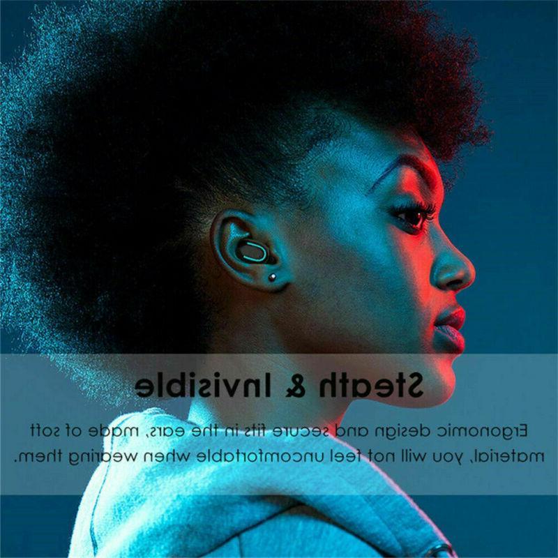 Wireless Earbud True 5.0 Stereo Earphone In-Ear