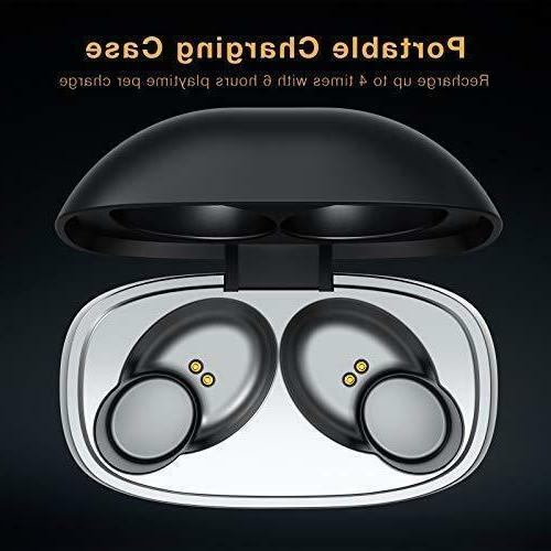 Wireless Bluetooth Earbuds with 35