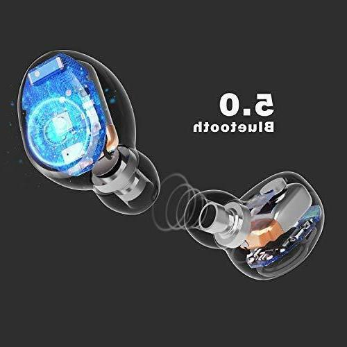 Wireless Earbuds, Upgraded Bluetooth Earbuds Hours T2