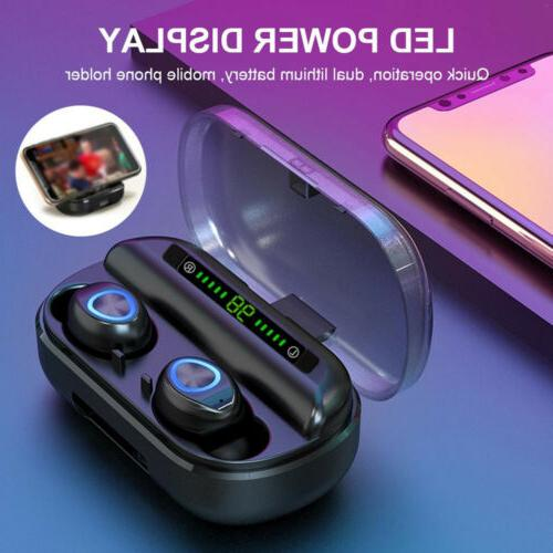 Wireless V10 Bluetooth 5.0 Waterproof Mini Earphone Headset