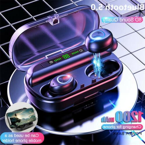 wireless earbuds v10 bluetooth 5 0 waterproof